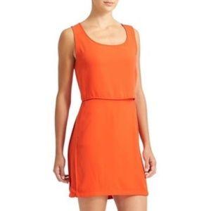 ATHLETA Getaway Dress Grenadine Orange Red {W27}